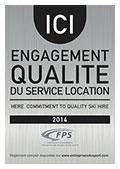 Engagement qualité du service location